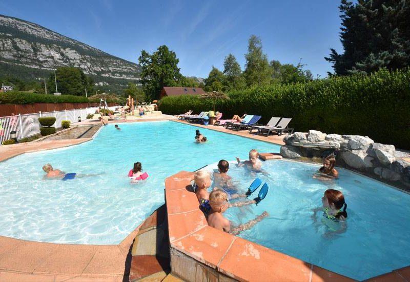 Kids-campings - Lac Bleu - buitenzwembad
