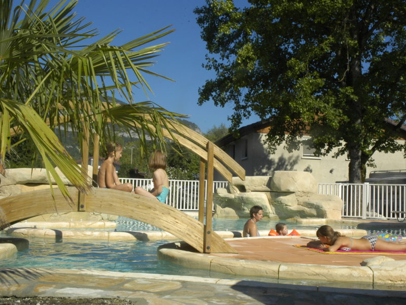 Kids-campings - Lac Bleu - zwembad