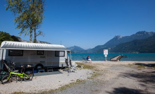Lac Bleu (Doussard) - Kids-Campings.com