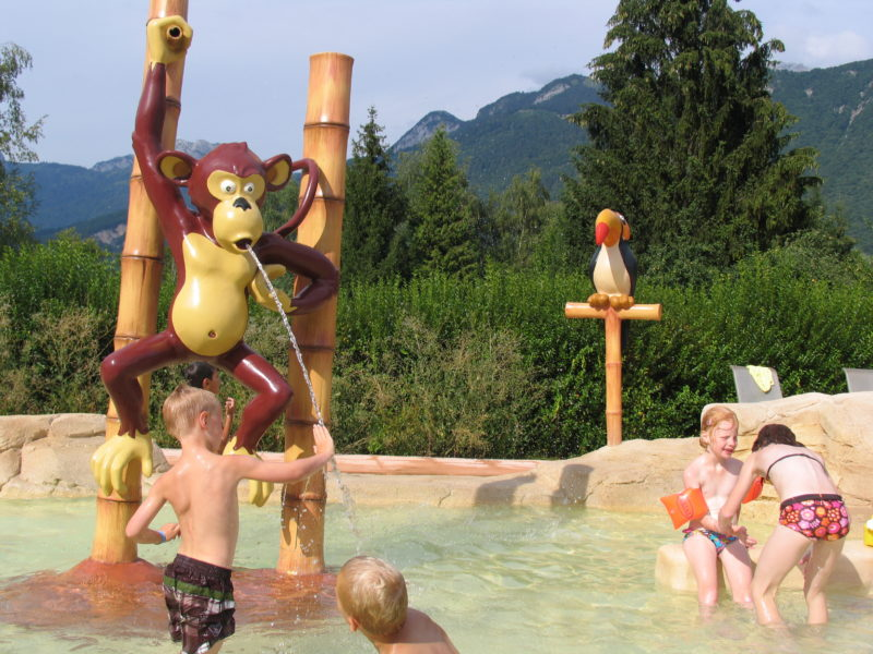 kindvriendelijk kamperen - Lac Bleu - peuterbad