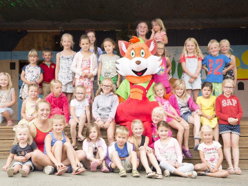 Kids-campings - Lenny Club - op de foto
