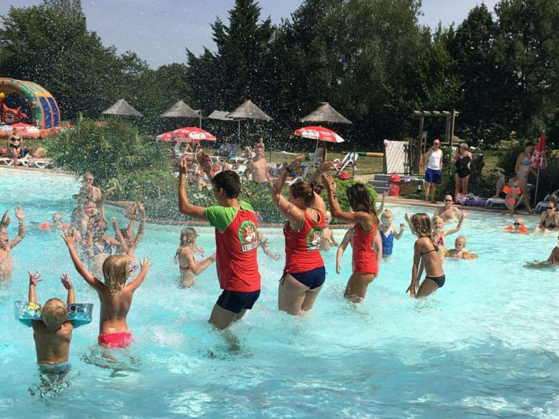 Aquagym - Lenny Club - kids-campings