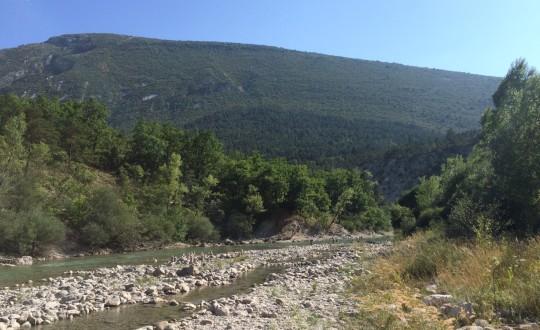 Chasteuil Provence: wegdromen in de bergen