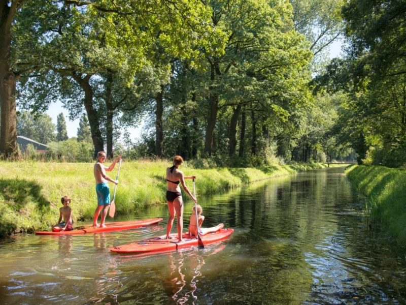 Landgoed de Elsgraven Kids-Campings stand up paddling