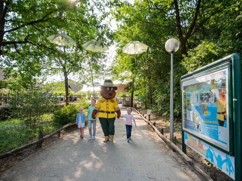 Rabbit Hill - kids-campings - wandelen met Bollo