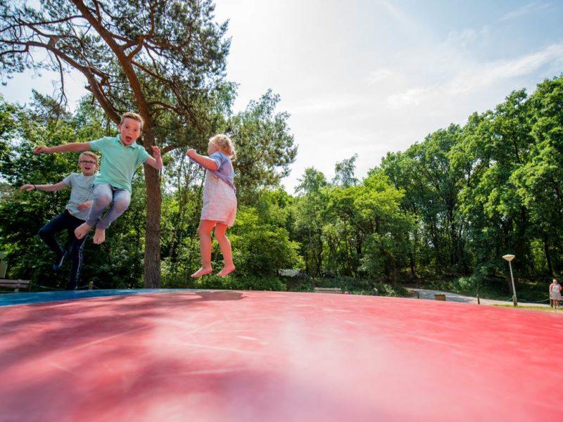 Rabbit Hill - kids-campings - op de airtrampoline
