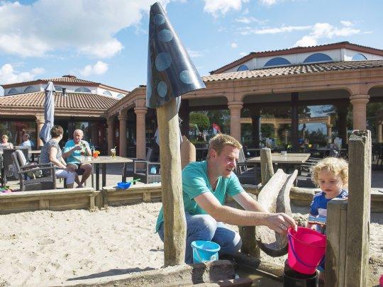 Stroombroek - kids-campings - spelen voor het terras