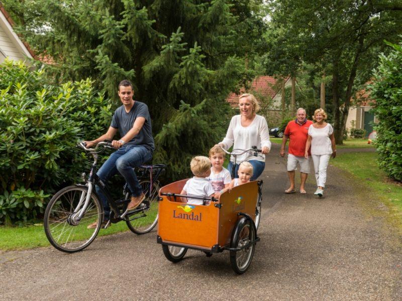 Landal - De Vlegge - fietsen