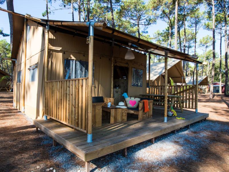 Kindvriendelijk kamperen glamping
