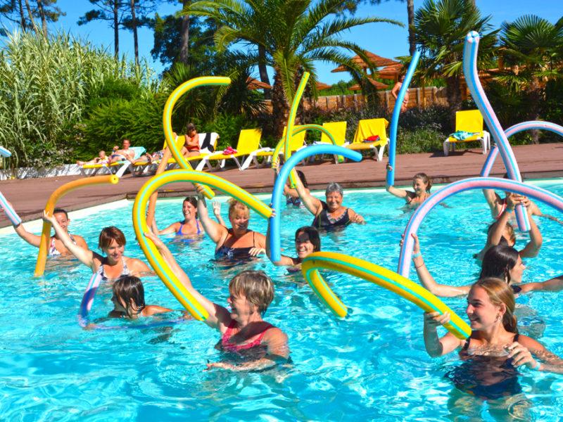 Camping Eurosol zwembad aquagym