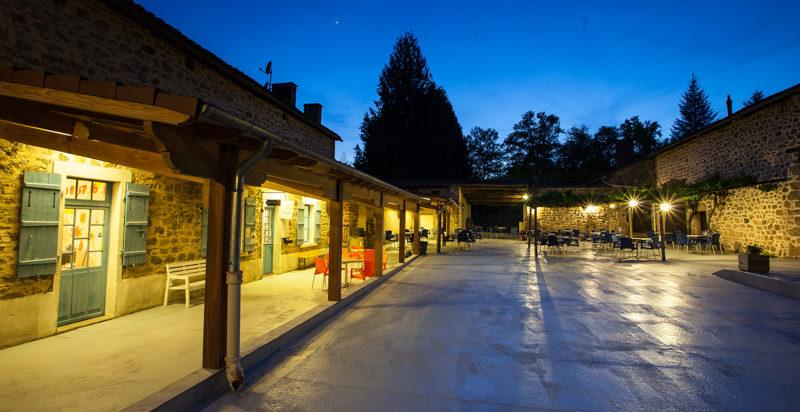 Château le Verdoyer avond