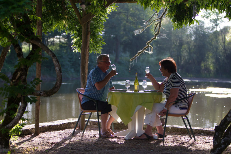 Château le Verdoyer dineren bij meer