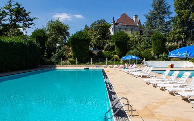 Château le Verdoyer zwembad