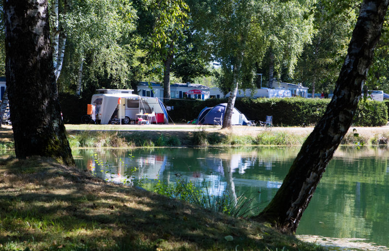 Domaine des Messires campsite meer