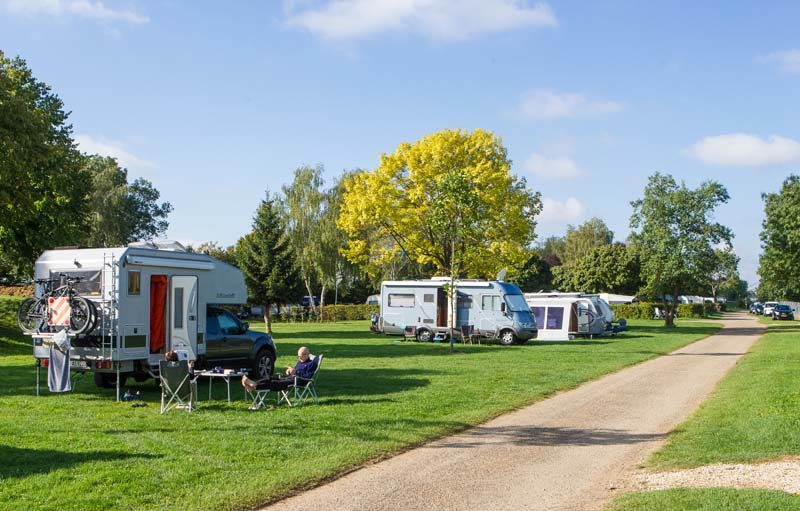 Pont de Bourgogne campsite