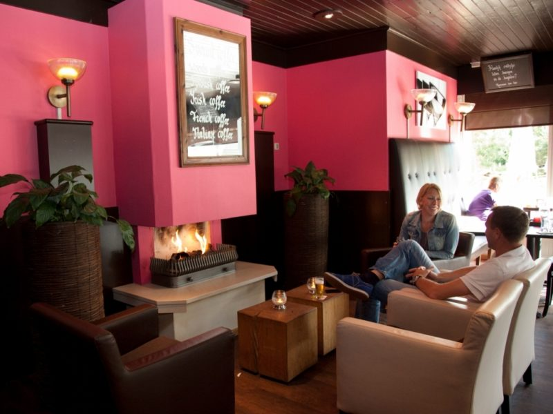 Heideheuvel - kids-campings - ontspannen in de lounge