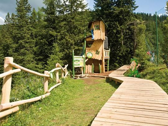 Katschberg - kids-campings - spelen in de speeltuin