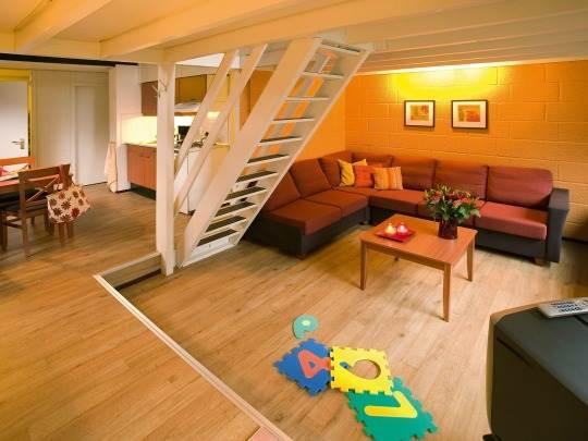 Landal - het Vennenbos - woonkamer