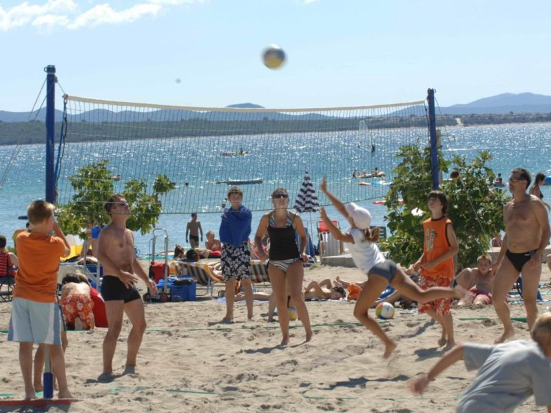 Zaton Holiday Resort, beachvolleybal