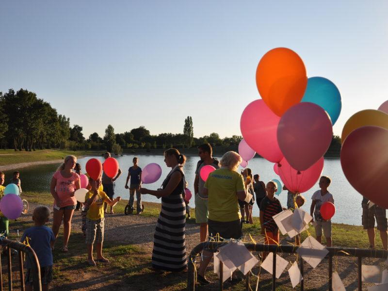Balonnen Trois Lacs du Soleil