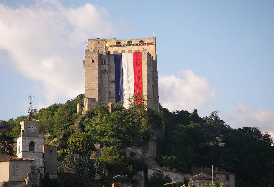 """""""La Tour"""": het hoogtepunt van Crest"""