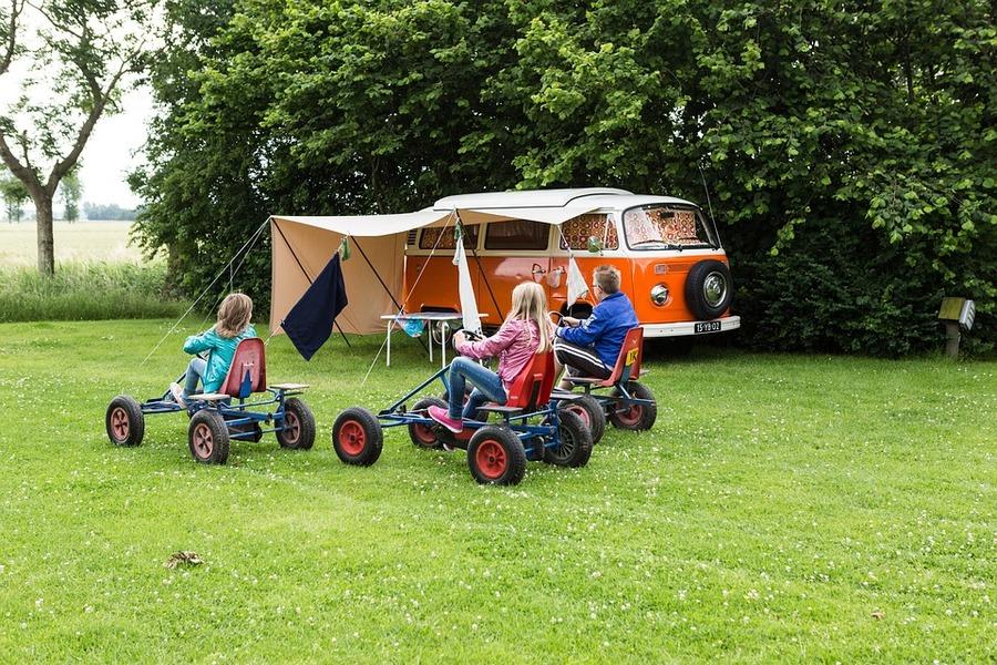 kamperen met kinderen - vakantie met kinderen
