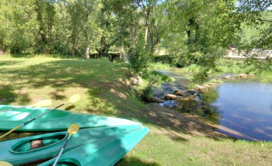 Camping Douzou: tot rust komen in de natuur!