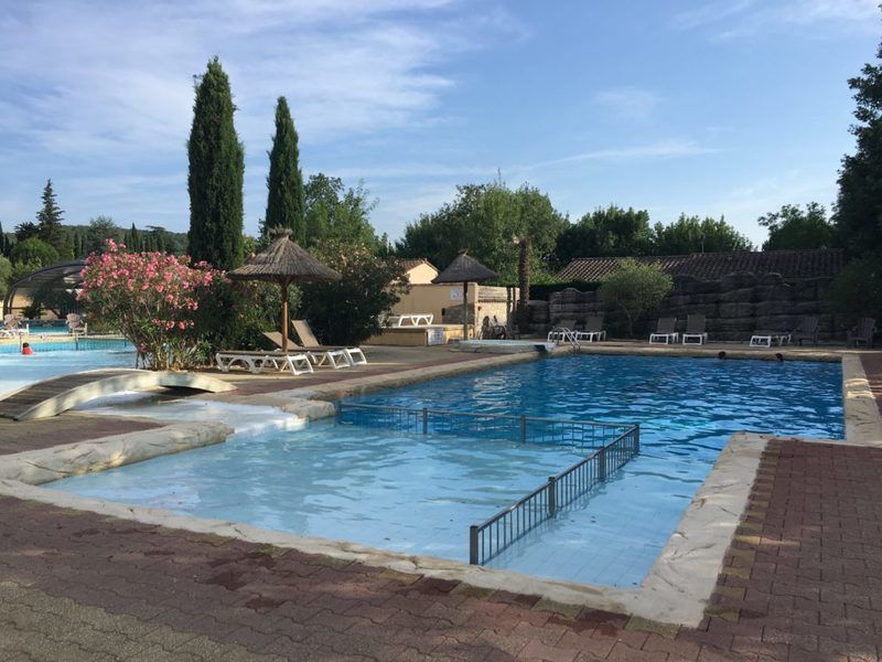 Camping les Coudoulets zwembad