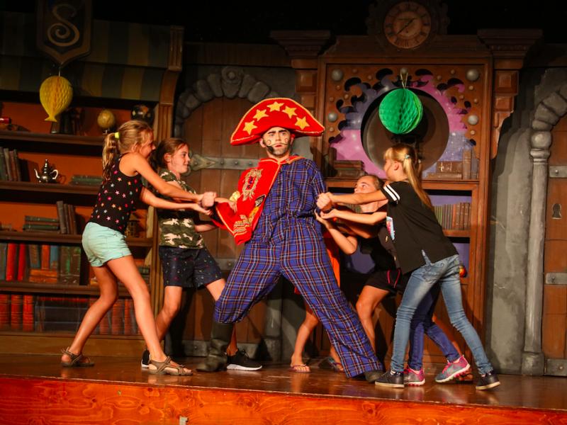 Theatershow Sprookjescamping - Kindvriendelijk kamperen