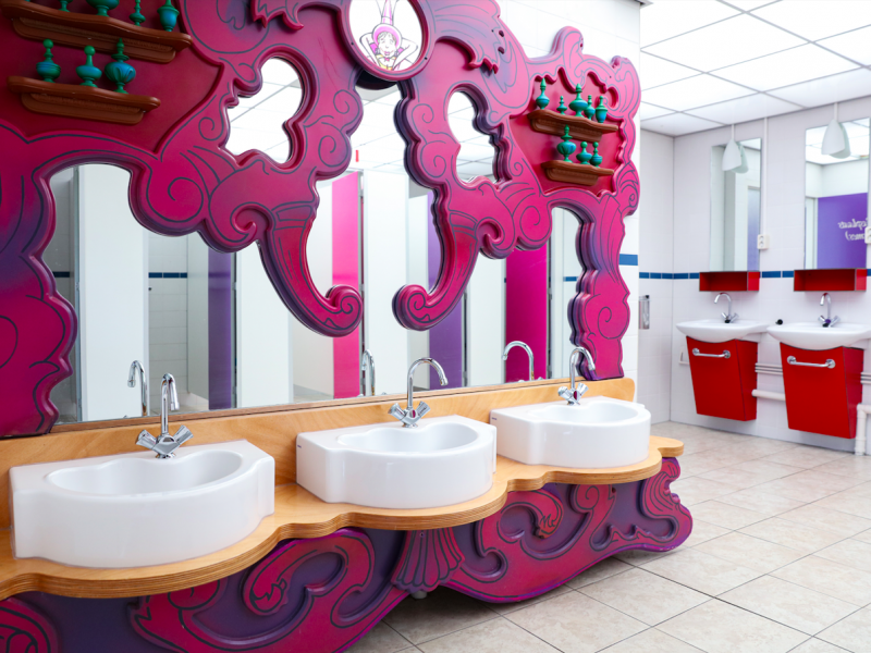 Prinsessen sanitair - Kids-Campings - Sprookjescamping