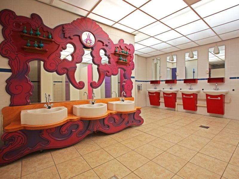 Sprookjescamping sanitair