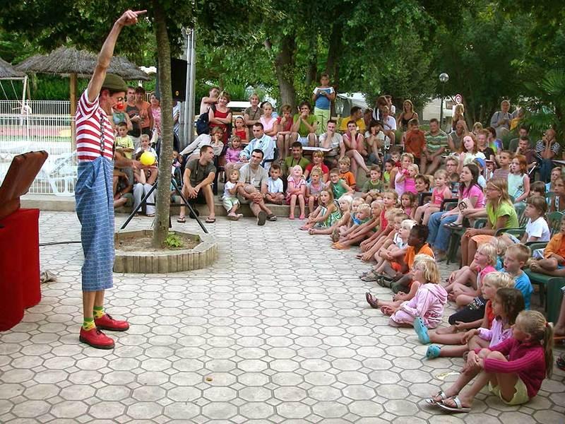 Clown op Les Clorinthes