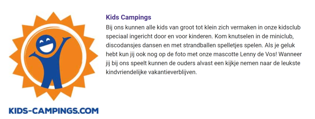 Kids-Campings