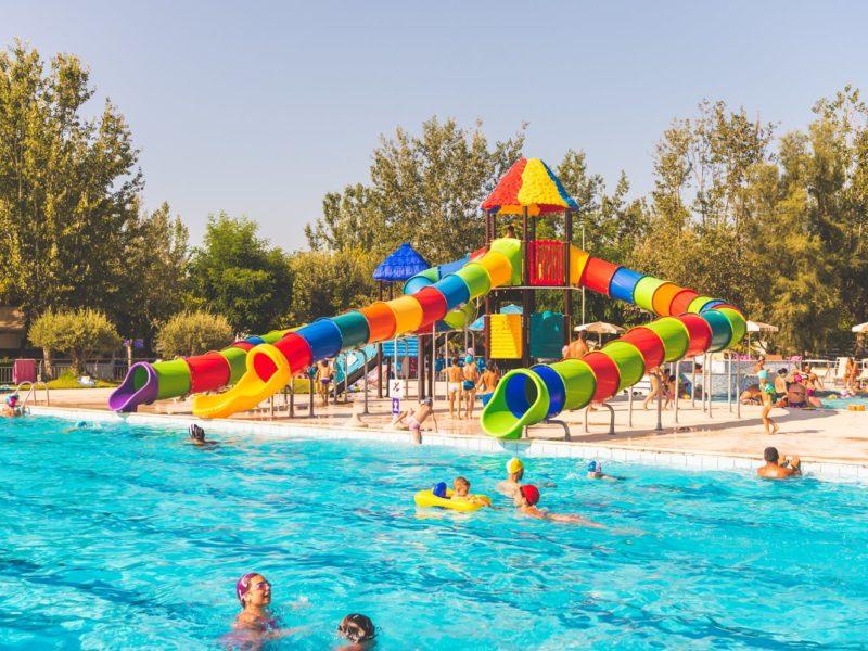 Zwembad Stork via Kids-Campings