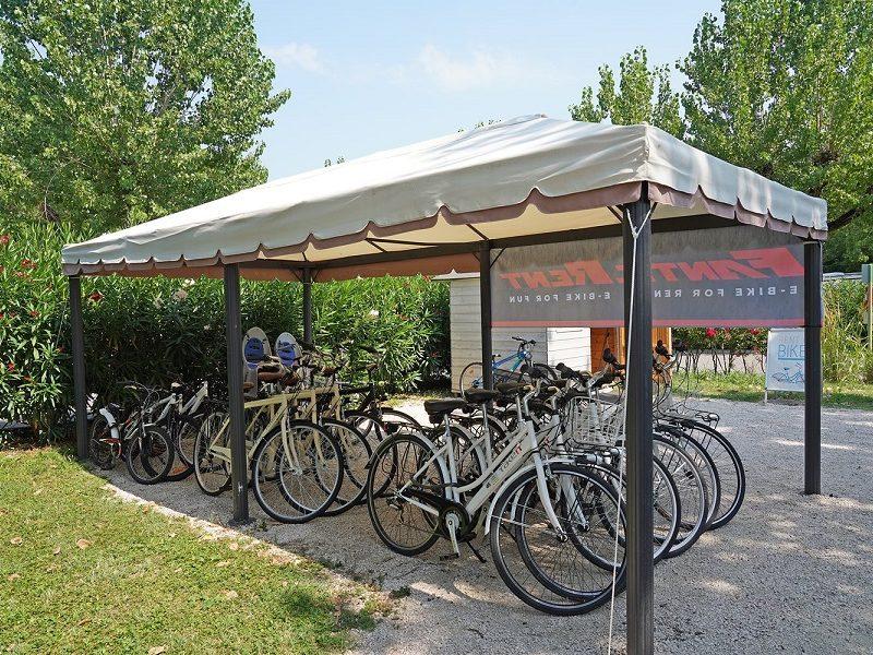 gardameer fiets huren