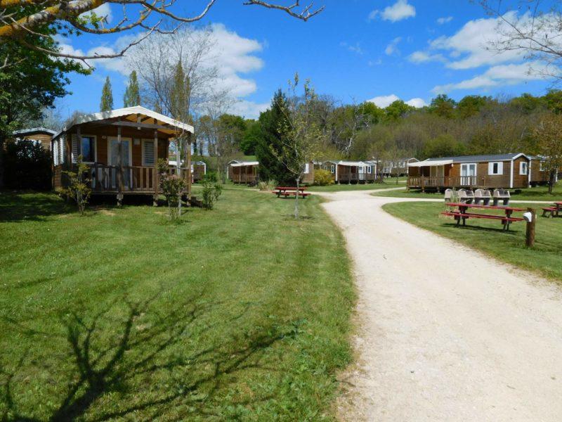 Accommodaties Padimodour, camping in de Lot Frankrijk