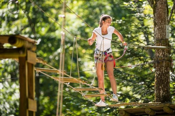 Klimmen en klauteren La Serre - Kids-Campings