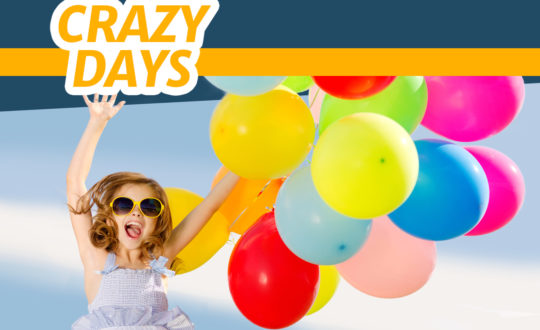 Dit weekend Crazy Days bij Vacanceselect!
