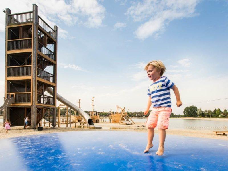 Hof van Saksen - Kids-campings - airtrampoline