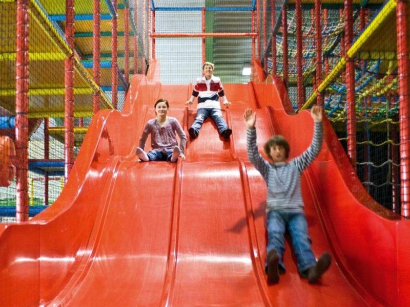 Hof van Saksen - Kids-campings - van de glijbanen