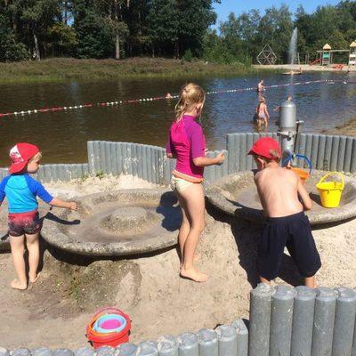 Baalse Hei - kids-campings - spelen aan het water
