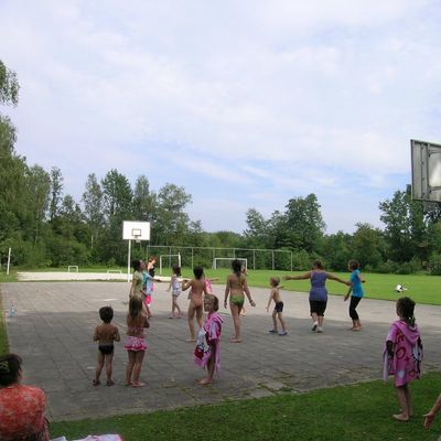 Baalse Hei - kids-campings - sporten op de speelvelden