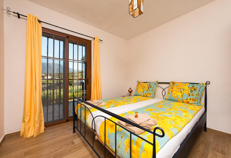 La Granja de Antonio - kids-campings - slaapkamer van het vakantiehuis