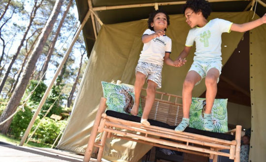Glamping Nunspeet - Kids-Campings.com