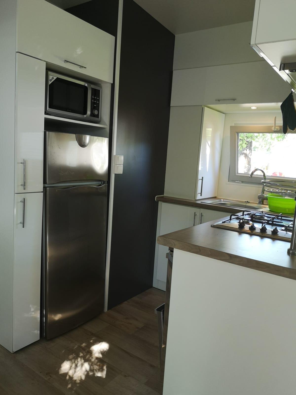 mobile home Ellegance - Domaine de Soulac - Kids-Campings