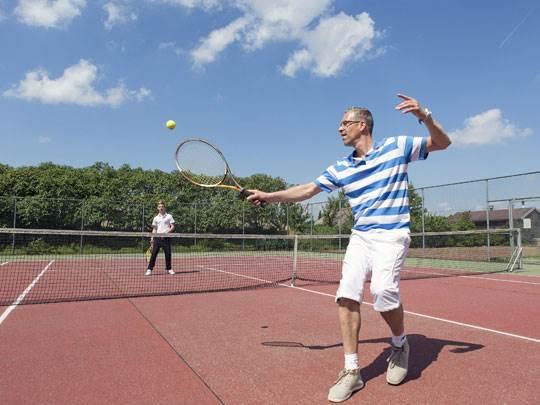 Veluwse Hoevegaerde Kids-Campings tennisbaan