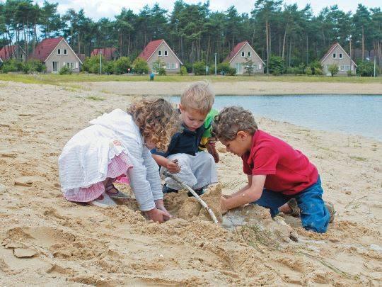 't Loo - kids-campings - zandkastelen bouwen