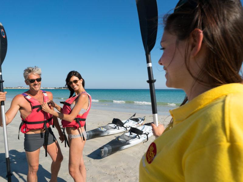 Camping Village la Plage strand activiteiten