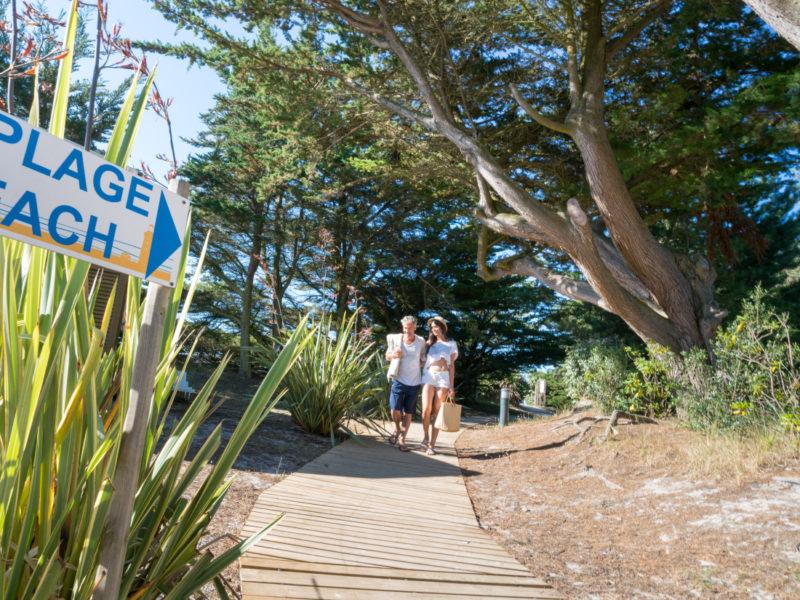 Camping Village la Plage - naar het strand