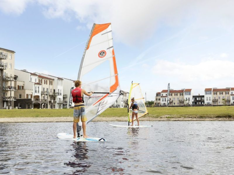De Eemhof - kids-campings - windsurfen